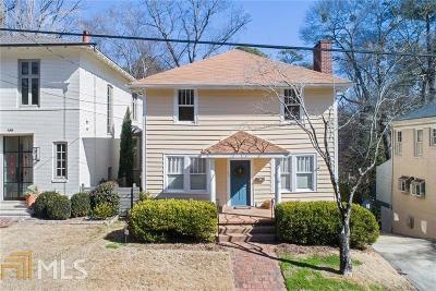 Ansley Park Single Family Home For Sale: 143 Barksdale Dr