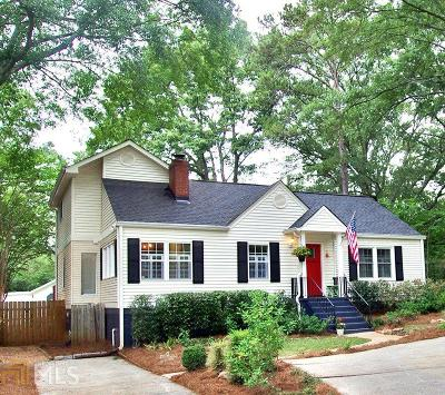 Decatur Single Family Home For Sale: 1115 Forrest Blvd