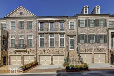 Cobb County Condo/Townhouse For Sale: 5074 Merton Ln
