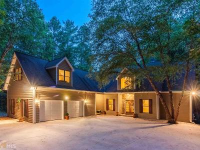 Habersham County Single Family Home For Sale: 960 Soque Wilderness Rd