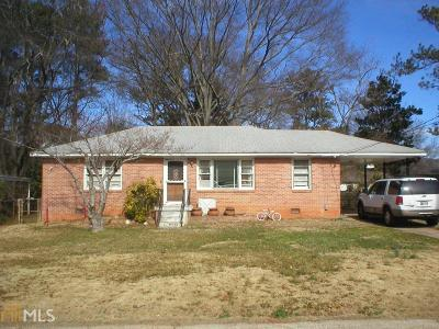 Smyrna Single Family Home For Sale: 575 Woodale Dr