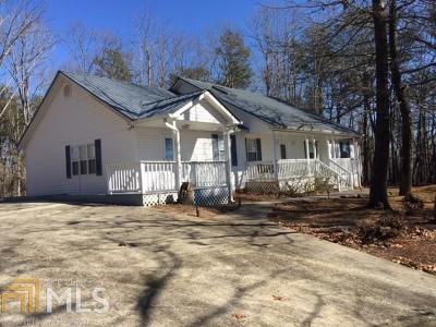 Dahlonega Single Family Home For Sale: 1757 Ben Higgins Rd