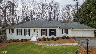 Sandy Springs Single Family Home For Sale: 4730 Merlendale Dr