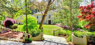 Buckhead Single Family Home New: 1360 Beechwood Hills Ct