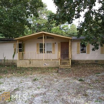 Conyers Single Family Home New: 2195 Carr