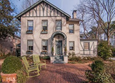Avondale Estates Single Family Home For Sale: 40 Clarendon Ave