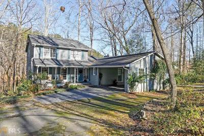 Marietta Single Family Home New: 3250 Burnt Hickory Rd