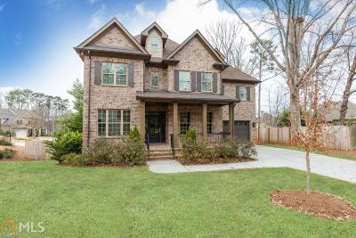 Sandy Springs Single Family Home For Sale: 5 Long Island Pl