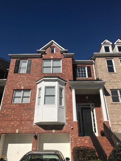Cobb County Condo/Townhouse Back On Market: 1419 Montclair Ct