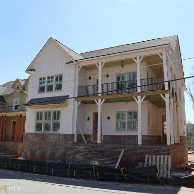 Marietta Single Family Home New: 433 Silverbell Way #100