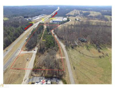 Habersham County Commercial For Sale: 365 Frontage Rd And Thompson Rd