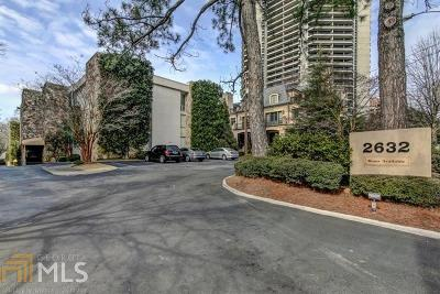 Fulton County Condo/Townhouse For Sale: 2632 Peachtree Rd #B301