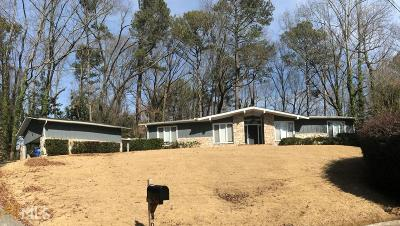 Fulton County Single Family Home New: 4645 Jettridge Dr