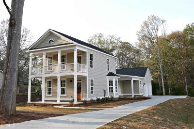 Senoia Single Family Home For Sale: Middle St #1