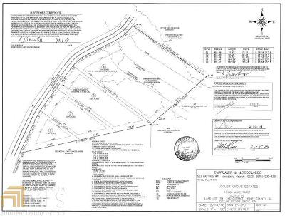 Locust Grove Residential Lots & Land For Sale: Bowden St