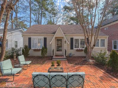 Peachtree Hills Single Family Home New: 2331 Shenandoah Ave