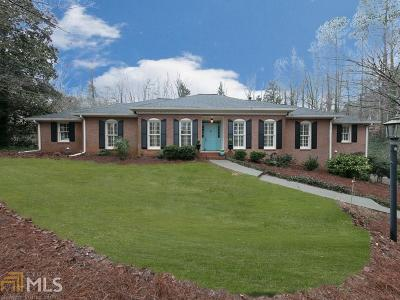Roswell Single Family Home New: 1870 Ridgefield Dr