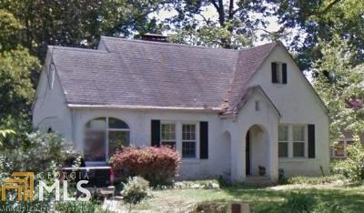 Atlanta Single Family Home Under Contract: 493 Emory Cir