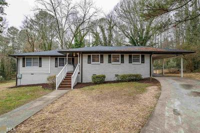 Fulton County Single Family Home For Sale: 749 Braemar Ave