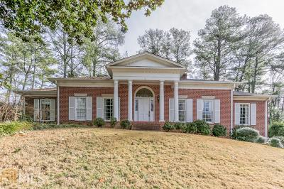 Fulton County Single Family Home New: 2473 Hyde Manor Dr