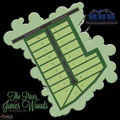 Good Hope Single Family Home For Sale: 2518 Jones Pine Rd
