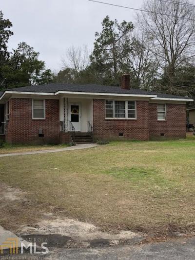 Statesboro Single Family Home New: 202 Ridgewood Dr