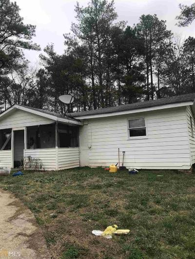 Stockbridge Single Family Home New: 4234 SW East Fairview