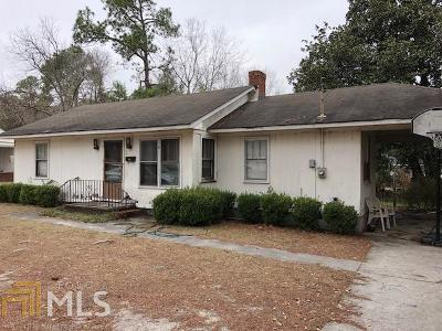 Statesboro Single Family Home New: 314 Jewell Dr #A