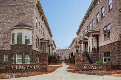 Atlanta Condo/Townhouse New: 1206 Virginia Ct #104