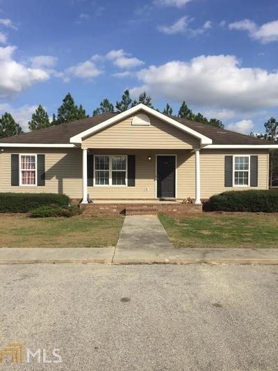 Statesboro Single Family Home For Sale: 2100 Gabbies Run
