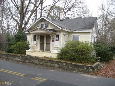 Griffin Single Family Home New: 618 Moody St