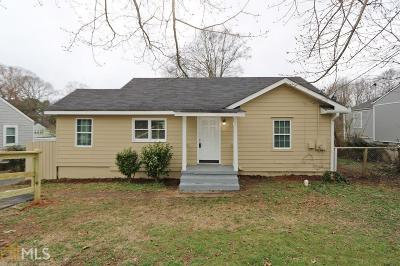 Marietta Single Family Home New: 1806 Old Concord Rd