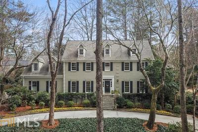 Sandy Springs Single Family Home New: 995 Ivy Falls Dr