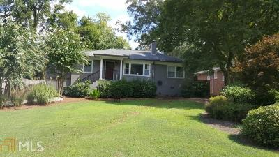 Atlanta Single Family Home New: 1164 Sheridan Rd