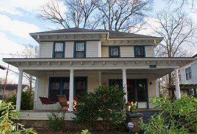 Decatur Single Family Home For Sale: 704 W College Ave