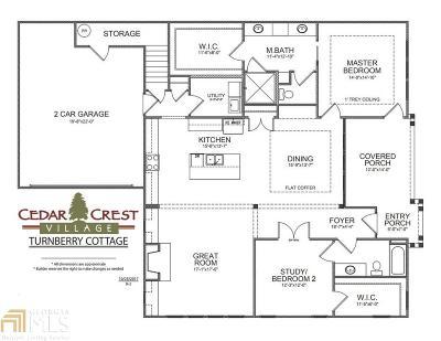 Acworth Condo/Townhouse Under Contract: 68 Cedarcrest Village Ln