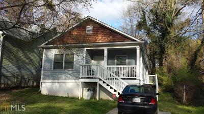 Atlanta Single Family Home New: 135 Dahlia Ave NW