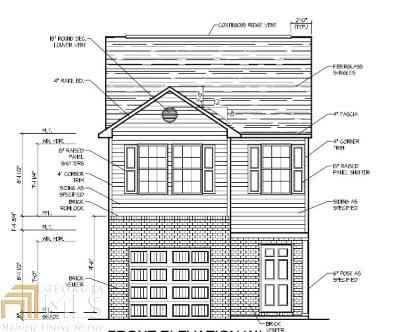 Conyers Single Family Home New: 2210 Castaway Ln #122