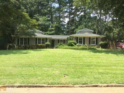 Dekalb County Single Family Home For Sale: 2776 Smithsonia Way