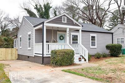 DeKalb County Single Family Home New: 465 Morgan Pl