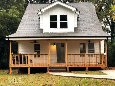 Decatur Single Family Home New: 1938 Willa Dr