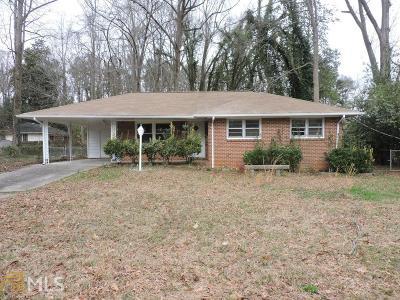 Clayton County Single Family Home New: 506 Shady Ln