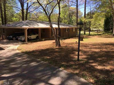 Powder Springs Single Family Home New: 3911 SW Hubert Dr
