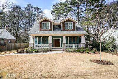 DeKalb County Single Family Home New: 480 Eastland Drive