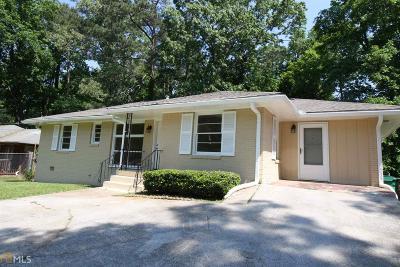 Atlanta Single Family Home New: 2070 Brannen Rd