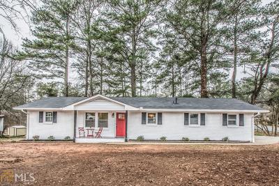 Austell Single Family Home For Sale: 4430 Pair Valley Dr