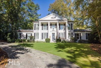 Sandy Springs Single Family Home For Sale: 635 River Valley Rd