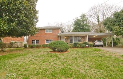 Decatur Single Family Home New: 2725 McAfee Rd