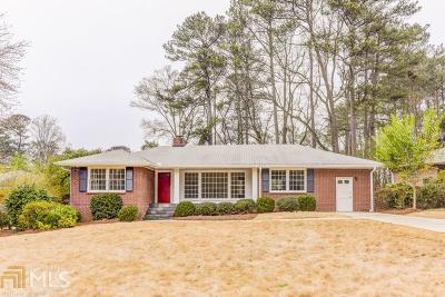 Decatur Single Family Home New: 1301 Amanda Cir