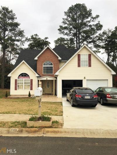 Clayton County Single Family Home New: 11586 Registry Blvd